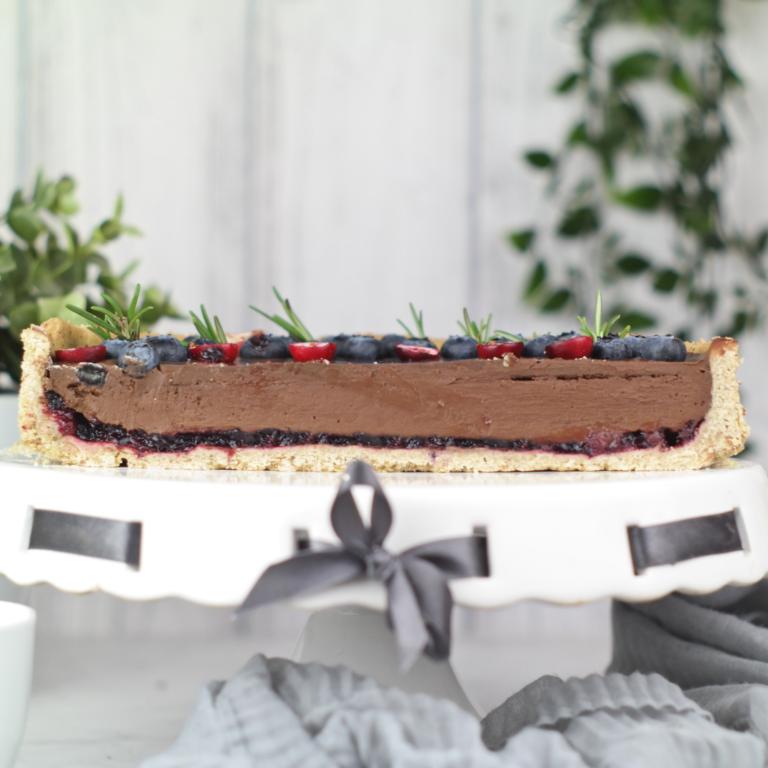 (tarta czekoladowa 1) - zdjęcie przekroju