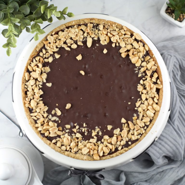 (tarta snickers 3) - zdjęcie z góry