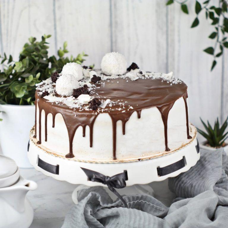 Torcik czekoladowy z kokosem (1)