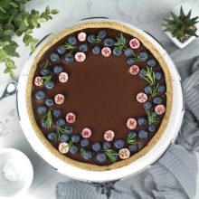 (tarta czekoladowa 3) - zdjęcie z góry